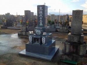 海部市 民間墓地