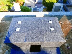 泰震:免震墓石ゲル
