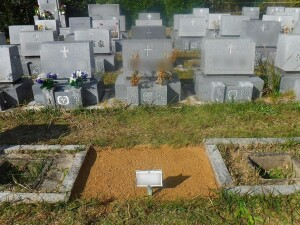 墓地返還工事・更地復元